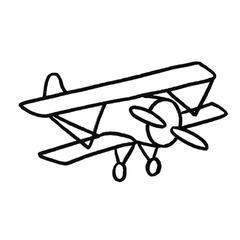 Design avion punch needle débutant