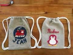 sac à dos personnalisable léger lavable maternelle