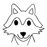 kit punch needle loup chien husky