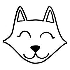 punch needle renard deign chat loup aiguilles magiques tissus à broder fil de laine point bouclette