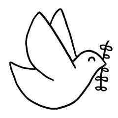 Motif colombe Punch Needle CReparti fabrication française cadeau communion