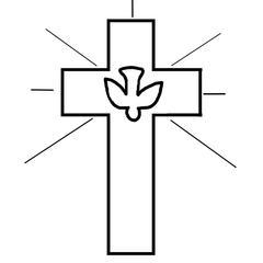 motif religieux cadeau original première communion décoration coin prière