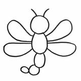 loisir créatif libellule
