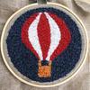 kit punch needle montgolfière livraison suisse