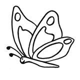 Kit punch needle papillon