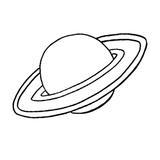 punch needle planètes saturne