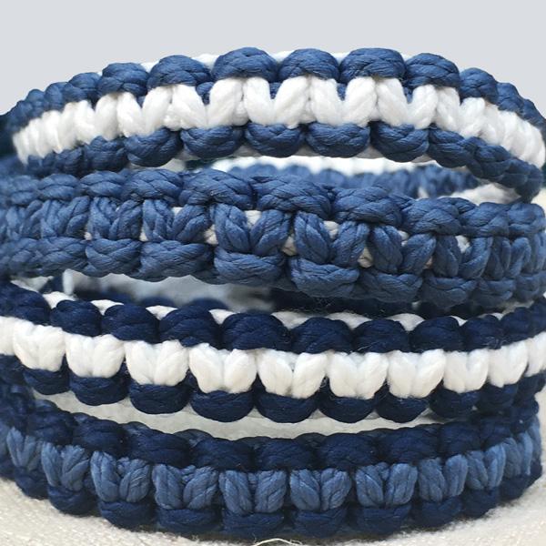 kits bracelets macramé